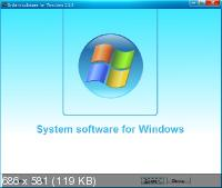 System software for Windows 3.3.3