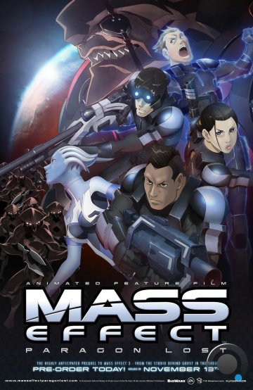 Mass Effect: Утерянный Парагон / Mass Effect: Paragon Lost (2012)